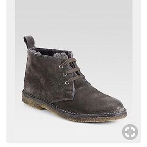 fe15064d73a6 Vince Candice Suede Chukkah Boots - Charcoal Gray